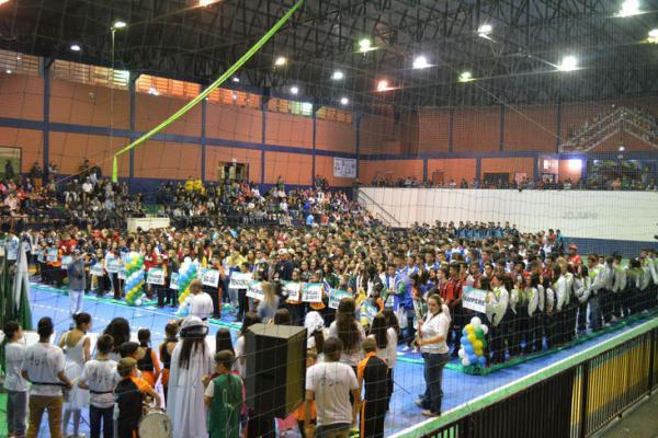 Começou os Jogos da Juventude em Sulina e Saudade do Iguaçu