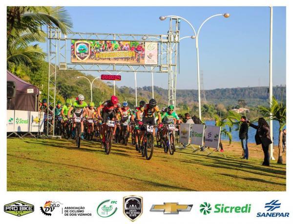 Circuito Vale do Iguaçu de Mountain Bike reuniu ciclistas em Cruzeiro do Iguaçu