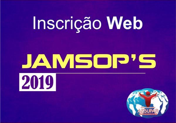 Liberadas as inscrições para os JAMSOP'S 2019