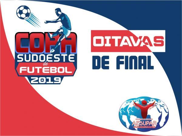 Aesupar define datas das oitavas de final da XVII Copa Sudoeste de Futebol