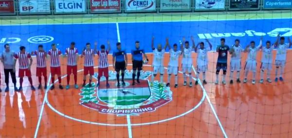 Muitos gols nos jogos de ida das oitavas da XVII Copa Sudoeste de Futsal