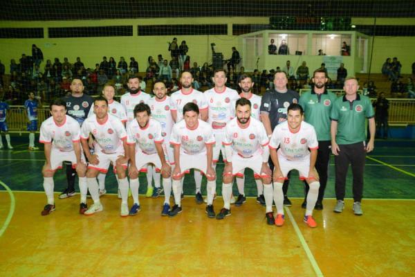 Começaram as quartas de final da XVII Copa Sudoeste de Futsal 2019
