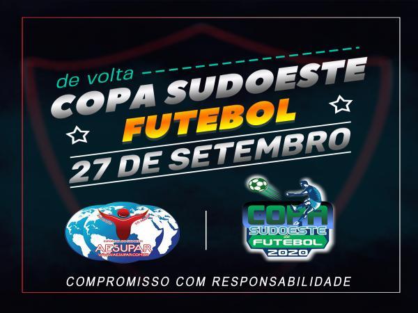 AESUPAR define volta da XVIII Copa Sudoeste de Futebol