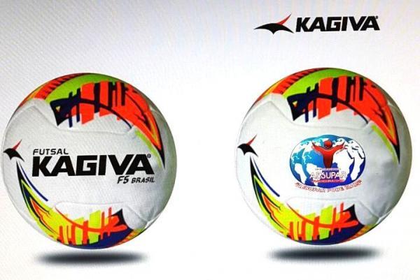 7a7c9756b6 Kagiva vai ser a bola oficial da Copa Sudoeste de Futsal 2017