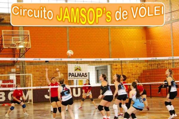 Neste final de semana tem mais Voleibol na 2ª Etapa do Circuito JAMSOP's