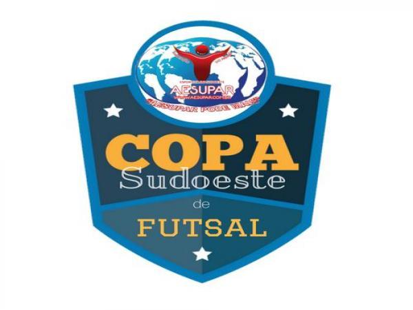 Saíram os oito classificados da XV Copa Sudoeste de Futsal