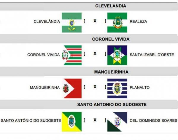 Nesta quarta-feira (11) a bola vai rolar para as quartas de final da Copa Sudoeste de Futsal
