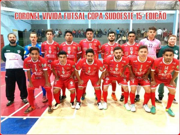 Coronel Vivida recebe o Santa Izabel D'Oeste pelo jogo de ida das quartas de final da Copa Sudoeste de Futsal