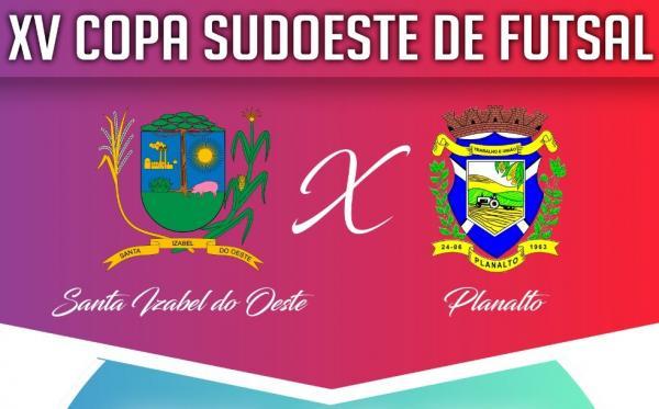 Vai começar a disputa do título da XV Copa Sudoeste de Futsal