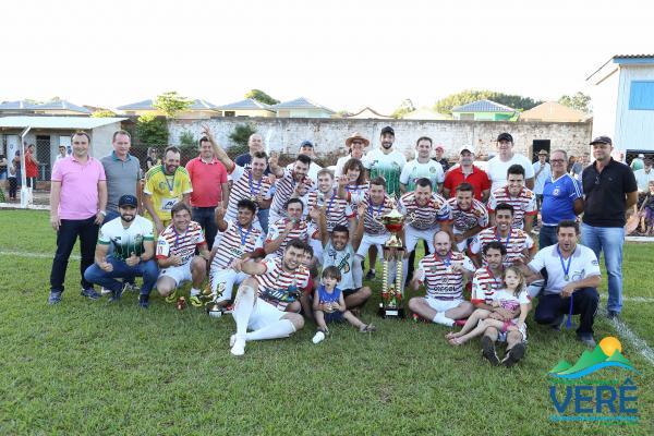 Em Verê, União da Barra conquista  o título do Campeonato Municipal de Futebol