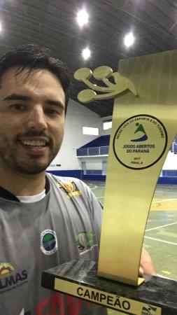 Voleibol Masculino de Palmas é Ouro nos Jogos Abertos Divisão A em Apucarana