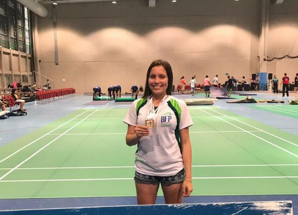 Andressa Pontes é Bronze nas duplas no Brasileiro de Badminton