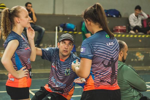 Laís Hentges e Tainá Hentges de Planalto foram Prata nos Jogos Abertos do Paraná