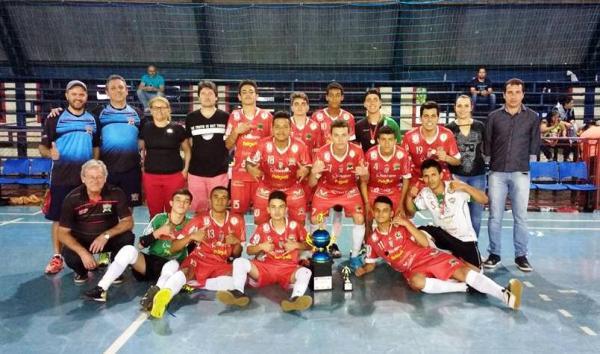 Palmas é campeã no Futsal Masculino dos Jamsop's 2017