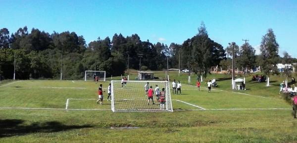 Começou o 1º Circuito Intercomunidades de Futebol Sete de Cel. Domingos Soares