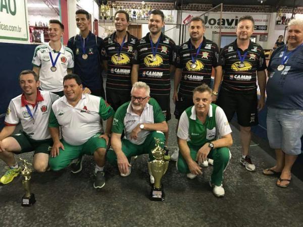 Palmas é Campeão do Campeonato Paranaense de Bocha Duplas