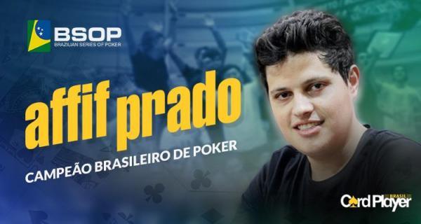 É de Palmas o novo campeão Brasileiro de Poker