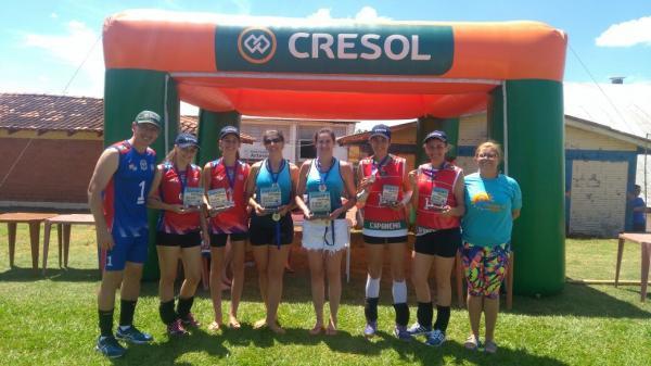 Planalto sediou as finais do Circuito Jamsop's de Voleibol e Vôlei de Praia