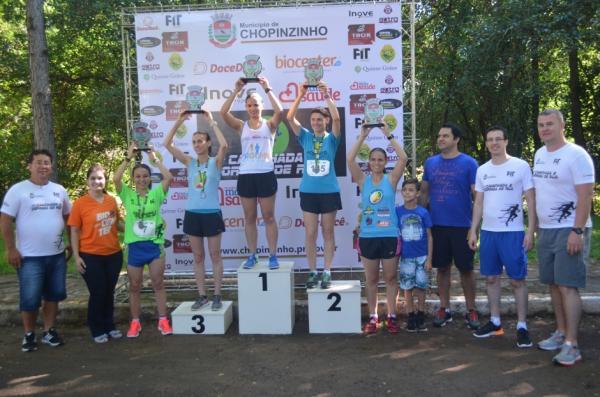 Departamento de Esportes promoveu a 1ª Caminhada e Corrida de Rua de Chopinzinho