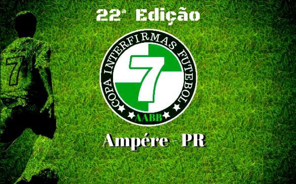 Vem aí a 22ª Copa Regional Interfirmas de Futebol Suíço 2018 em Ampére