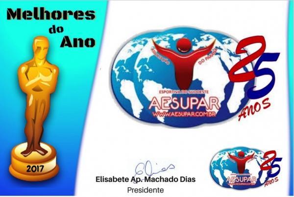 Aesupar fará entrega do Prêmio Esportivo Melhores do Ano na próxima sexta-feira (2)