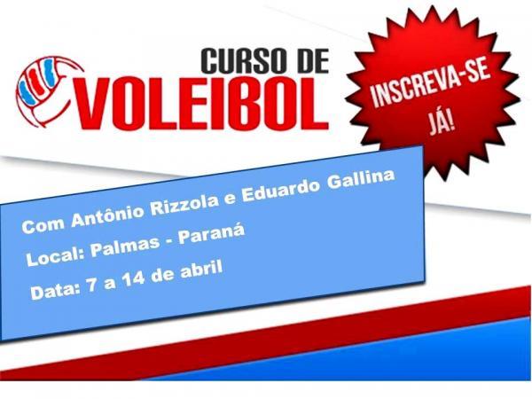 Palmas receberá Curso Nacional de Treinadores de Voleibol