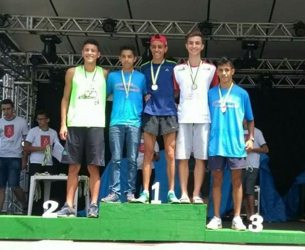 Em sua categoria, Palmense Vitor de Oliveira vence a Corrida Rústica dos 70 anos de Tangará (SC)