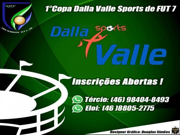 Inscrições abertas para a 1ª Copa Dalla Valle de Fut7 em Beltrão