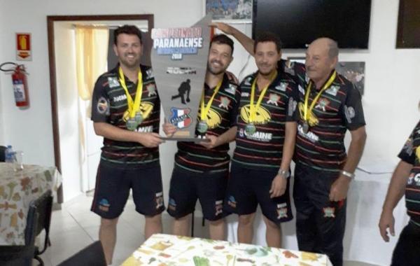 Bocha de Palmas é campeã do Paranaense de Trios em Guarapuava