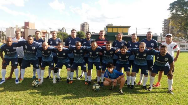 Jogando em Santa Catarina, o time Veteranos Palmas aplica goleada no Tabajara Xanxerê