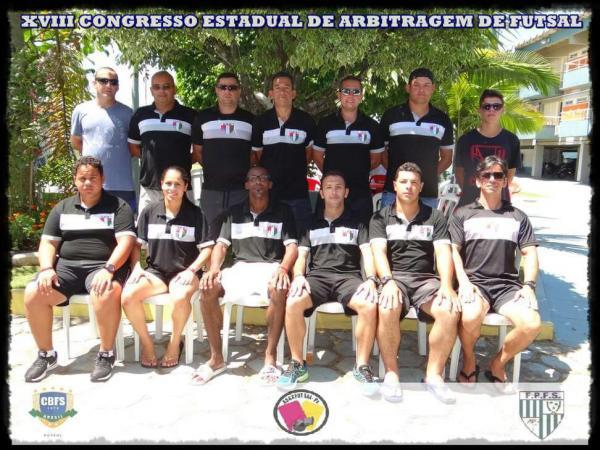 Oficiais de Arbitragem da APA participam de Congresso Estadual de Arbitragem