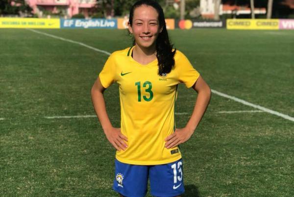 Castrense Bruna Nhaia, moradora de Palmas, integra a Seleção Brasileira Sub-17