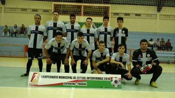 Iniciou nesta quinta-feira (15) o Campeonato Municipal Interfirmas de Futsal em Capanema