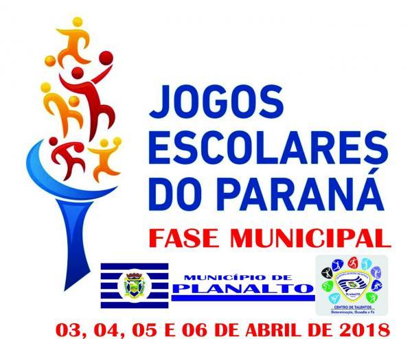 Planalto se prepara para a Fase Municipal dos Jogos Escolares do Paraná