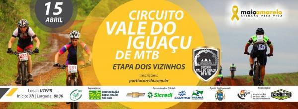 Dois Vizinhos sedia 2ª Etapa do Circuito Vale do Iguaçu de MTB – 2018