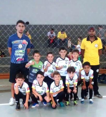 Equipes Sub 7 e Sub 9 de Mariópolis se classificam na 2ª Copa EFAPA/SICREDI de Futsal