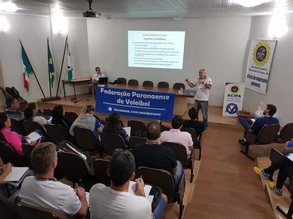 Palmas recebeu Curso Nacional de Treinadores Nível II da CBV
