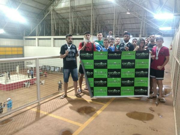 9 Atletas da Corppus Academia de Palmas sobem ao Pódio do Paranaense de Kick Boxing