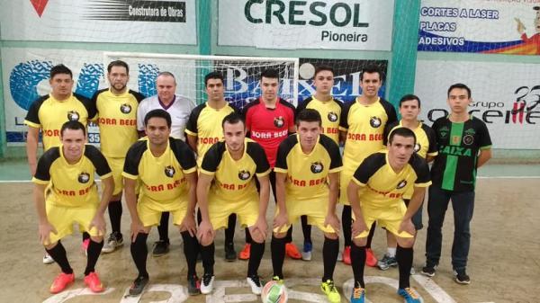 Iniciou ontem o XXXII Campeonato Municipal de Futsal de Dois Vizinhos