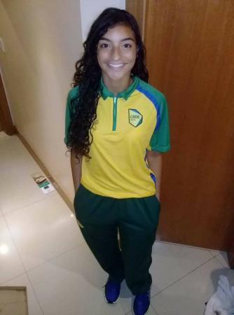 Dheniffer Vaz fica com a 8ª Melhor Marca nos Jogos Mundias no Marrocos