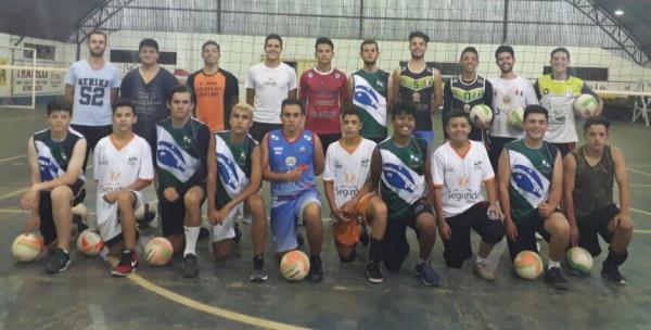 Equipe de Palmas vai participar do Paranaense Sub 19 de Voleibol em São José dos Pinhais