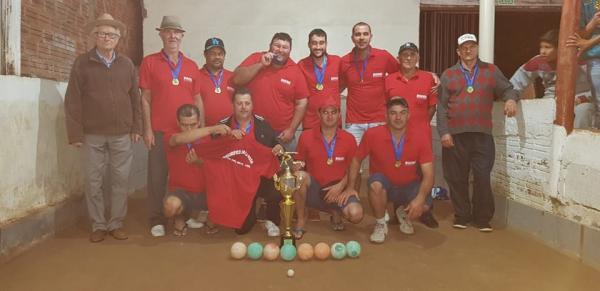 Encerrado o XXXI Campeonato Municipal de Bocha em Dois Vizinhos