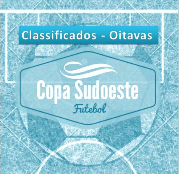 Conheça os 16 times classificados paras as Oitavas de Final da Copa Sudoeste de Futebol