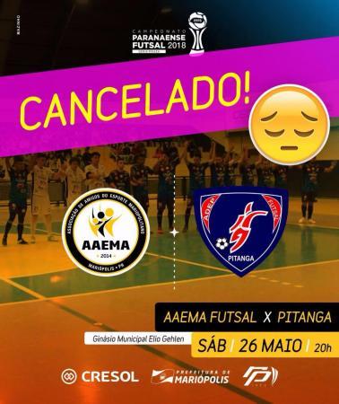 Cancelado: Mariópolis e Pitanga pela Série Prata de Futsal vai ser em outra data