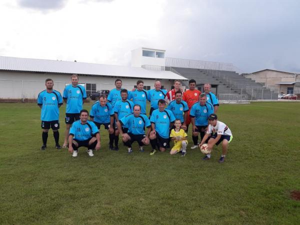 Master Mariópolis goleia a equipe Master Campoerense