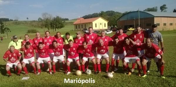 Equipe dos Veteranos Masters de Mariópolis encara mais um compromisso no próximo sábado