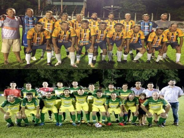Definidos os finalistas do Campeonato Municipal de Futebol Master 2018
