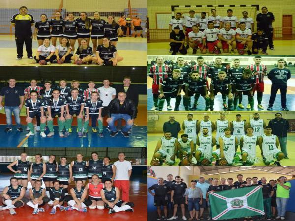 JAP's: Capanema é Prata no Handebol feminino e Bronze no Futsal feminino