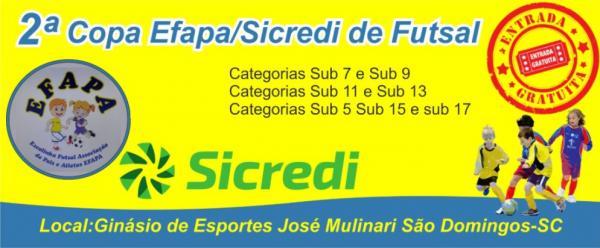 Equipes de base da AAEMA Mariópolis jogam amanhã as semi da 2ª Copa Efapa/Sicredi