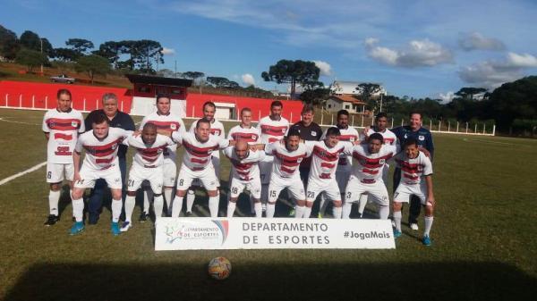 Fora de casa, Veteranos Palmas vencem a Associação Mangueirinha